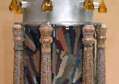 """Layers of Light"" Torah case"